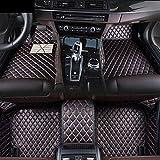 Estera del Piso del Coche para Usado para Personalizadas Car Tapetes for BMW X6 E71 E72 - El Cuero Impermeable Antideslizante Liner Set, Vino Tinto, BMW X6 Estera del Coche