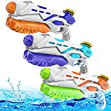 Super Soaker Water Guns 3 Pack,Water Guns for Kids 550CC Super Water Blaster Soaker Squirt Guns Long Range Summer Swimming Pool Beach Party Favors Water Outdoor Toy for Kids Boy Girl (ABC Pack of 3)