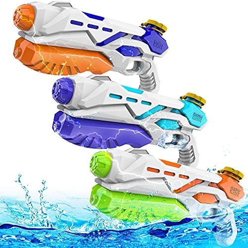 Super Soaker Water Guns 3 Pack,Water Guns for Kids 550CC Super Water...