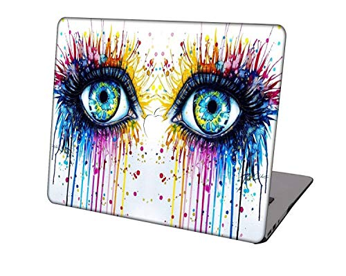 Laptop Case for MacBook Air 13 inch Model A1932/A2179/A2337,Neo-wows Plastic Ultra Slim Light Hard Shell Cover Compatible MacBook Air 13 inch 2018-2020 Release,Portrait A 21