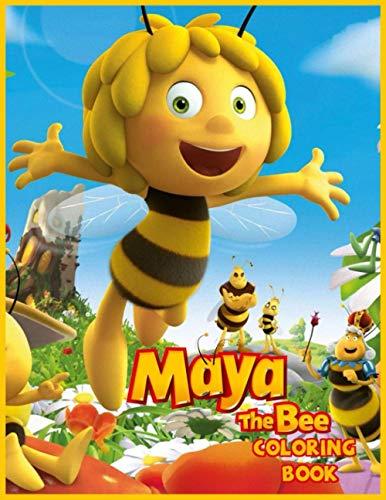 Maya the Bee Coloring Book: Las aventuras de la abeja Maya Libro...