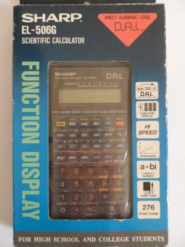 SHARP EL-506G Advanced D.A.L Scientific Calculator