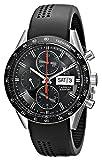 Tag Heuer CV201AH. FT6014 - Reloj, Correa de Goma, Color Negro
