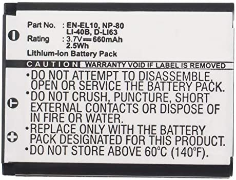 Synergy Digital Max 69% OFF Camera Battery 02491-0066-17 Sealife with Attention brand Works