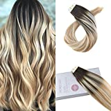 Best Tape In Hair Extensions - Moresoo Hair Extensions Tape in Real Human Hair Review