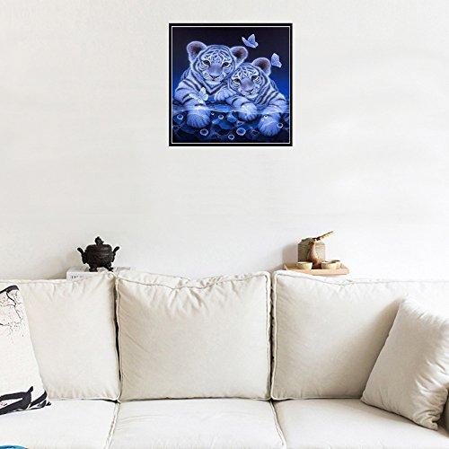 Realde DIY Diamant Malerei kit, 5D Painting Kätzchen und Eule Muster Teilbohrer Kreuzstich Kits Kristall Strass Von Bild Serielle Diamant Stickerei Kunst Handwerk Home Wand Decor