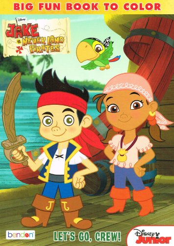 Jake and The Neverland Pirates 96 Page Coloring Book (1 of 2 Assorted Styles)