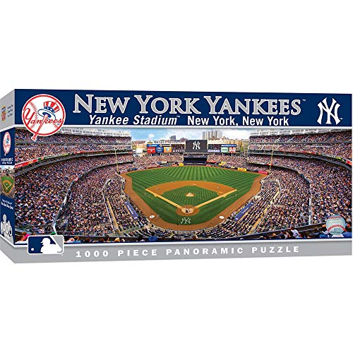 MasterPieces New York Yankees 1000PC Panoramic Puzzle