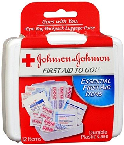 Johnson & Johnson J & J First Aid to Go 1ct Dimensione