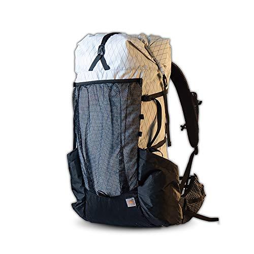 KIKILIVE campingrucksack,3F Ul Gear Wasserfester Wanderrucksäcke Leichter Trekkingrucksäcke Travel Mountaineering Backpacking Trekking Rucksäcke 45 + 10L