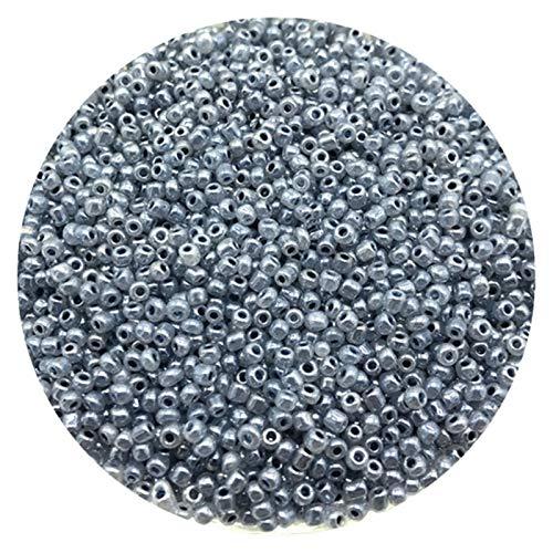 ZITENG CGBH Granos de la Pulsera de 2 mm de Semillas Charm Cristal Checo Perlas Collar de Perlas Pulsera DIY for la joyería Haciendo Accesorios (Color : 43)