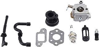 TOPINCN Engine Saviour Vergaser Set Ersatz für STIHL MS170 MS180 017 018 Erschwingliche Kettensäge Rasenmäher Zubehör