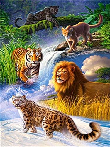 Puzzle 1000 Piezas Regalos de decoración de Arte de Pintura de Animales Puzzle 1000 Piezas Animales Gran Ocio vacacional, Juegos interactivos familiares50x75cm(20x30inch)