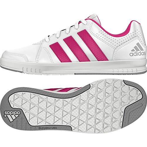 adidas Performance Unisex-Kinder LK Trainer 7 Laufschuhe, Weiß (Ftwr White/Eqt Pink S16/Mid Grey S14), 36 2/3 EU