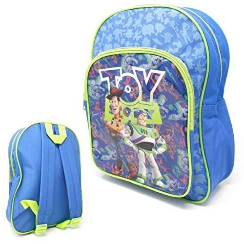 Disney Toy Story: Mochila escolar con bolsillo frontal adicional