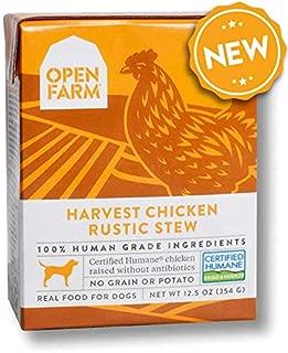 Open Farm Harvest Chicken Rustic Stew 12.5 Ounce Tetrapacks, case 12