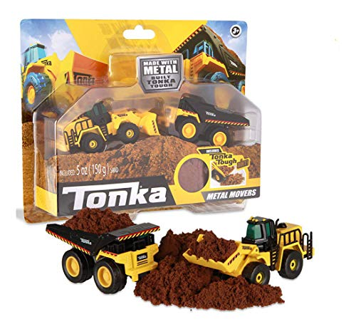 Tonka - Metal Movers Combo Pack - Mighty Dump Truck & Front...