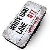 WTF | iPhone 7 Worn White Hart Lane | Faux Leather Flip
