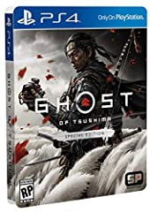In this open-world action adventure, you'll roam vast countrysides and expansive terrain to encounter rich characters, discover ancient landmarks, and uncover the hidden beauty of Tsushima. The Rise of the Ghost: In his quest to reclaim Tsushima, Jin...