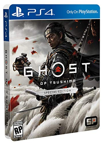 51PrKU2T+yL - Ghost of Tsushima Special Edition - PlayStation 4