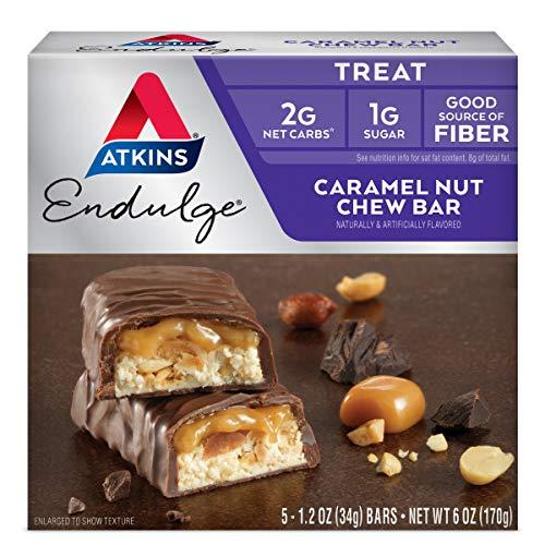Atkins Endulge Bar Caramel Nut Chew, Caramel Nut Chew 5 P