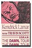 Kendrick Lamar Poster Concert Pomo 27,9x 43,2cm Damn.