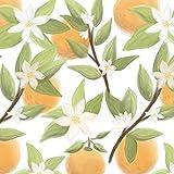 ORANGE wz.2 / weiß, Softshell Classic, 140 cm breit (+/-