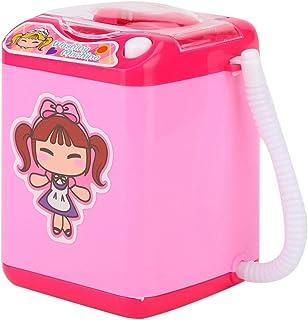 Elektrisk makeupborste rengörare enhet svampborstar bricka mini simulering tvättmaskin för makeupartister för flickvänner ...