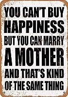 母と結婚できる 金属板ブリキ看板警告サイン注意サイン表示パネル情報サイン金属安全サイン