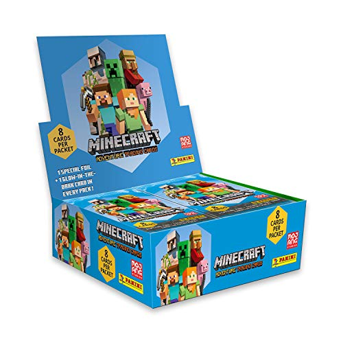 Panini Minecraft Trading Card (18 Paquetes)