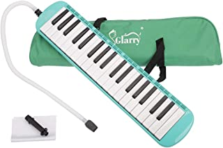 $20 » Festnight 37 Key Melodica Mouthpiece Bag Piano Style Pianica with Carrying Bag and Cleaning Cloth 37-Key Portable Melodica Green