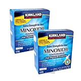 Kirkland Minoxidil 5% Extra Strength Men Hair Regrowth 12 Month (1 Year) Supply