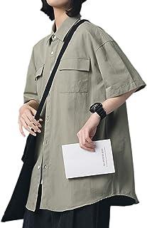 J.STORE [ジェイストア] シャツ ユニセックス カジュアル 半袖 コットン 通気性 オシャレ メンズ レディース