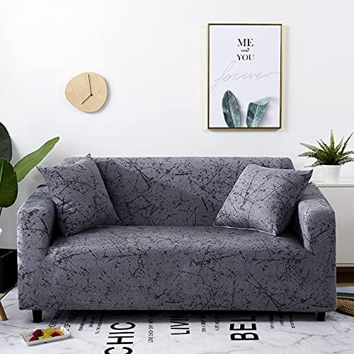 uyeoco Fundas de sofá 1 2 3 4 Plazas Elasticas Protector de Muebles Ajustables Impresión Protector de sofá (Color : R, Size : 1 posti (90-140cm))