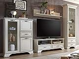 möbelando Wohnwand Anbauwand Schrankwand Mediawand TV-Wand Wohnzimmerwand Valeria I