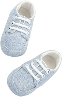 FENICAL Baby Soft Cotton Prewalker Newborn High-top Shoes for Infant Home Outdoor