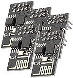 AZDelivery 5 x ESP-01S ESP8266 WiFi Modulo compatibile con Raspberry Pi e Microcontroller, E-Book incluso!