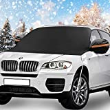 KKTICK Windshield Snow Cover, Car Windshield Covers for Ice...