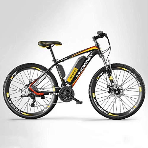 GQQ Bicicleta de Velocidad Variable, Bicicleta Eléctrica de