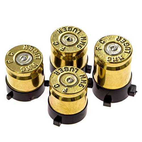 xbox 360 brass bullet buttons - 1