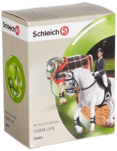 Schleich 42020  - Bauernhof, Springreitset (ohne Pferd)