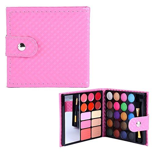 BrilliantDay set palette 32 colori per makeup cosmetici professionali, include rossetto ombretti lucidalabbra fard cipria fondotinta#1