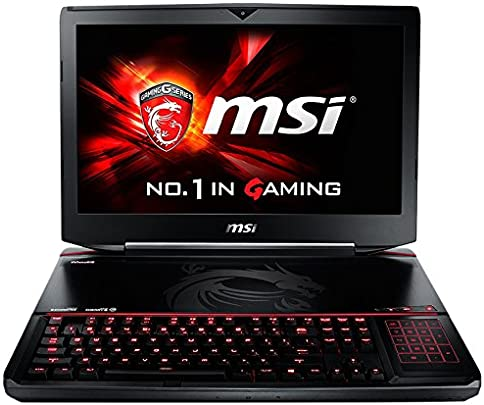 MSI GT80S-6QE32SR42BW  46 74 cm  18 4 Zoll  Laptop  Intel Core i7 6820HK  32GB RAM  1280GB HDD SSD  Win 10 Home  schwarz grau
