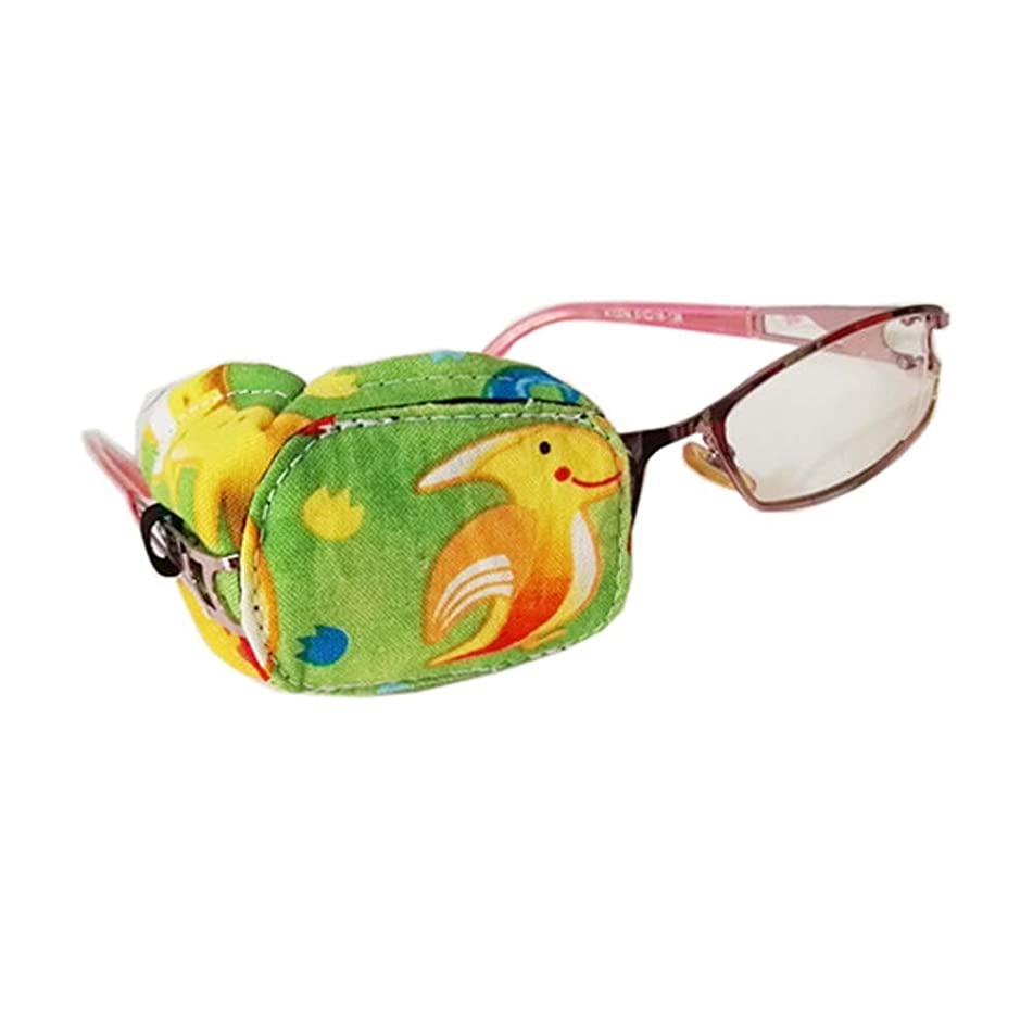 Fancy Pumpkin Creative Cartoon Pattern Eye Patch Single Glasses Cover Amblyopia Treatment Supply for Children