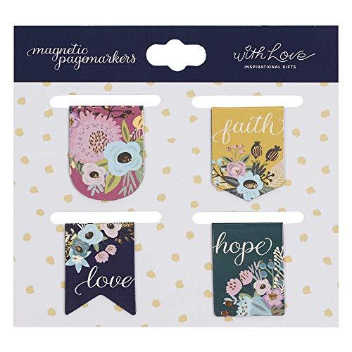 Magnetic Bookmark Faith, Hope, Love