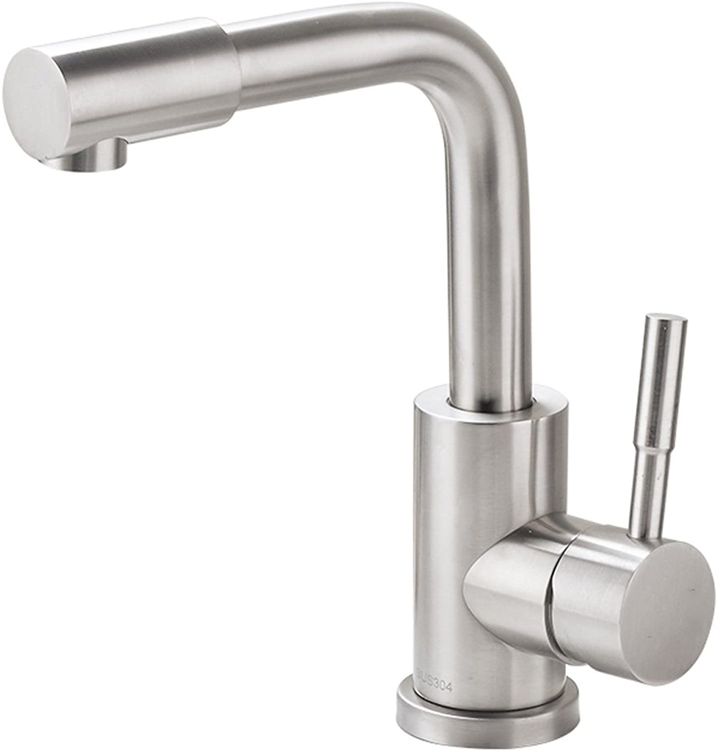 Faucet 304 Stainless Steel redating Hot And Cold Single Hole Kitchen Bathroom Aperture 32mm To 40mm MUMUJIN