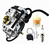 labwork Carburetor Carb Fit for Yamaha Wolverine 350 YFM350FX YFM350 FX 4X4 1996-2005