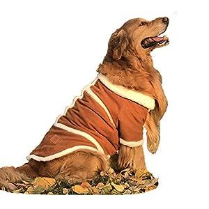 wengshilin Esquimau Style Big Dog chiffons couches Halloween Costumes Paws Manteau Protège-poitrail Big Race de chien Chien en polaire doublée Effet daim