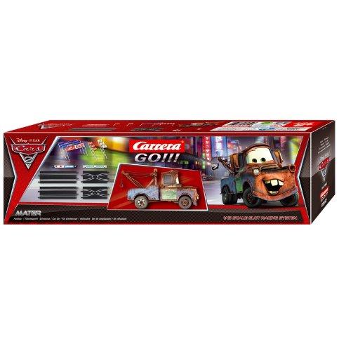 Carrera Go - 20061652 - Véhicule Miniature et Circuit - Disney / Pixar Cars 2 - Extension Kit + Mater