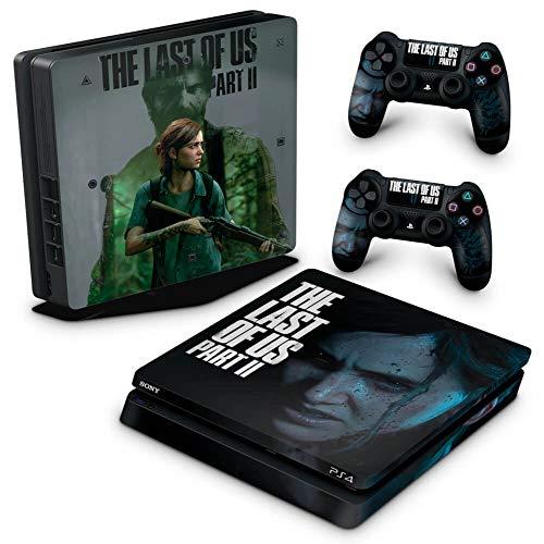 Skin Adesivo para PS4 Slim - The Last Of Us Part 2 Ii B